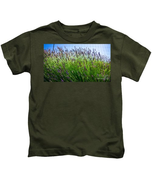 Country Lavender II Kids T-Shirt