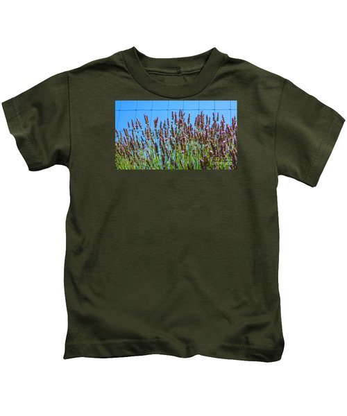 Country Lavender IIi Kids T-Shirt