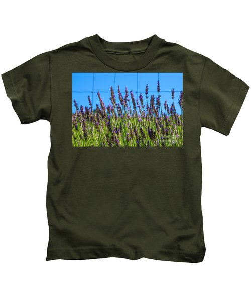 Country Lavender Vii Kids T-Shirt