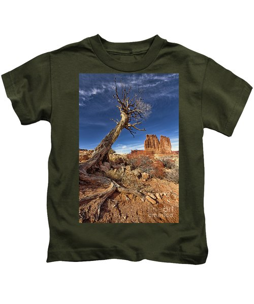 Courthouse Towers Kids T-Shirt