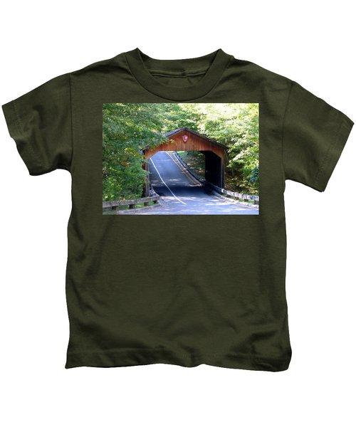 Covered Bridge Kids T-Shirt