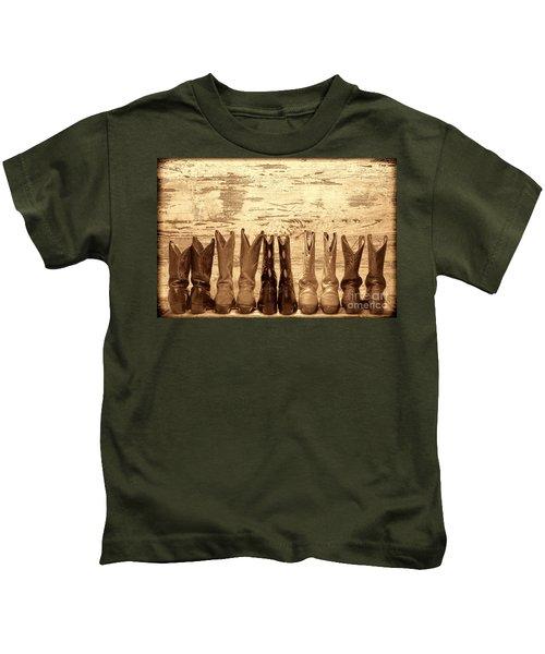 Cowgirls Night Out Kids T-Shirt