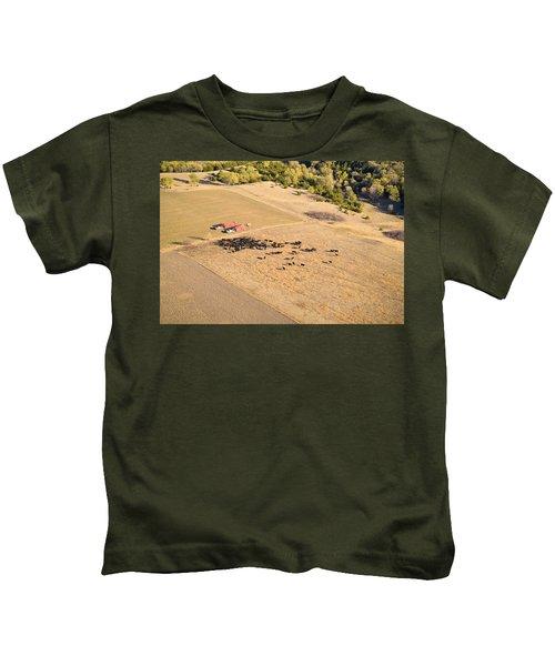 Cows And Trucks Kids T-Shirt