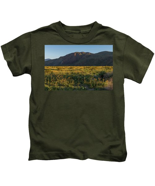 Coyote Mountain And Henderson Canyon Road Kids T-Shirt