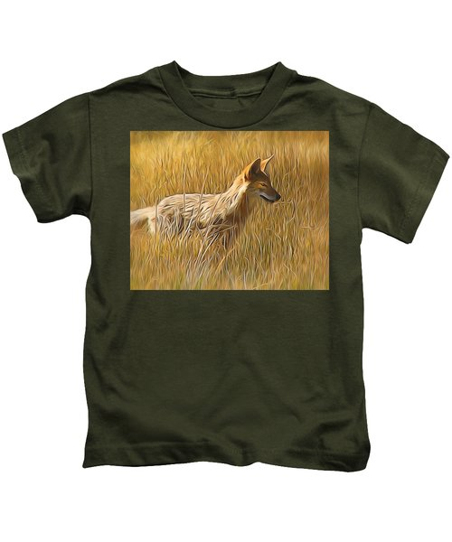 Coyote Sunshine Kids T-Shirt