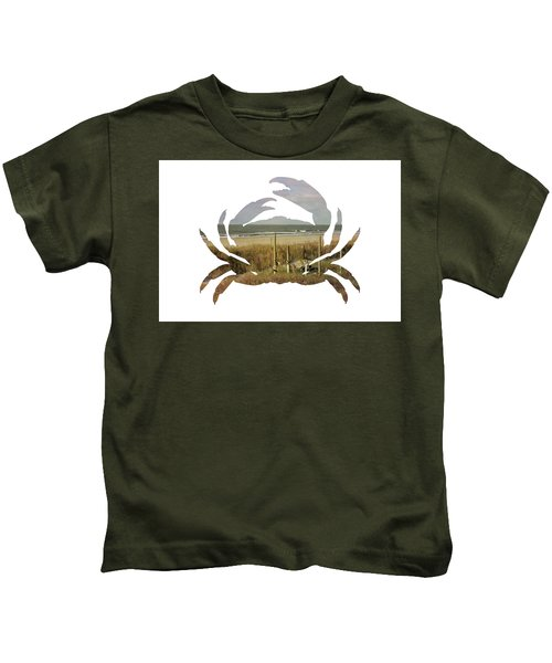 Crab Beach Kids T-Shirt