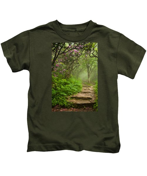 Craggy Steps Kids T-Shirt