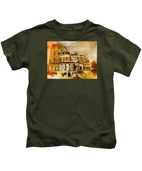 Crazy Colosseum Kids T-Shirt