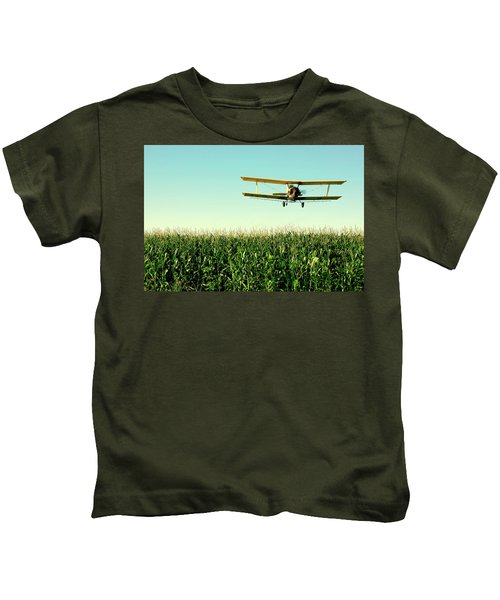 Crops Dusted Kids T-Shirt