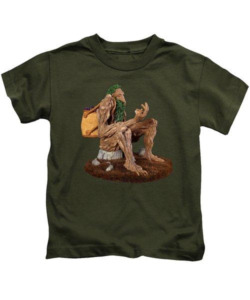 Crystal Ent Kids T-Shirt by Przemyslaw Stanuch