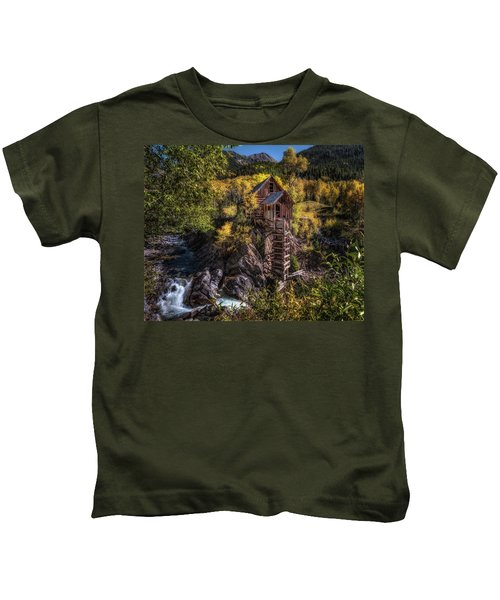 Crystal Mill Colorado Kids T-Shirt