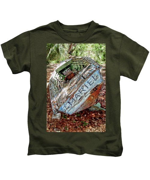 Cuban Refugee Boat 3 The Mariel Kids T-Shirt