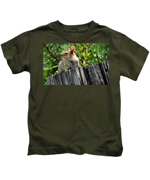 Curious Chipmunk Kids T-Shirt
