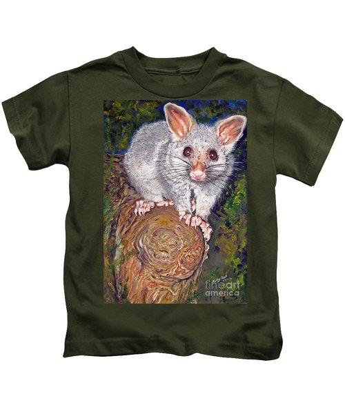 Curious Possum  Kids T-Shirt