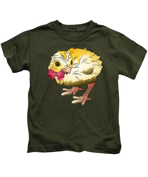 Cute Chick Kids T-Shirt