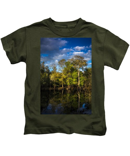Cypress And Oaks Kids T-Shirt