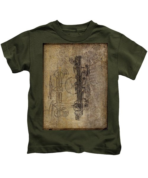 Dads Clarinet Kids T-Shirt