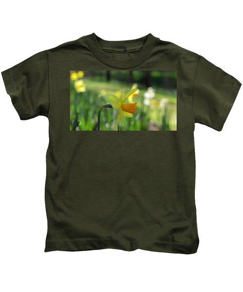 Daffodil Side Profile Kids T-Shirt