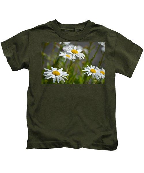 Daisies Galore Kids T-Shirt