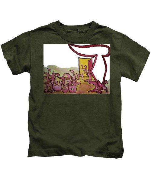 Dalet An Open Door Ab16 Kids T-Shirt