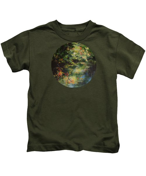 Dance Of Color And Light Kids T-Shirt