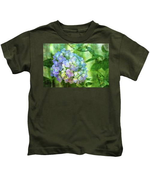 Dappled Light Hydrangea 2300 Idp_2 Kids T-Shirt