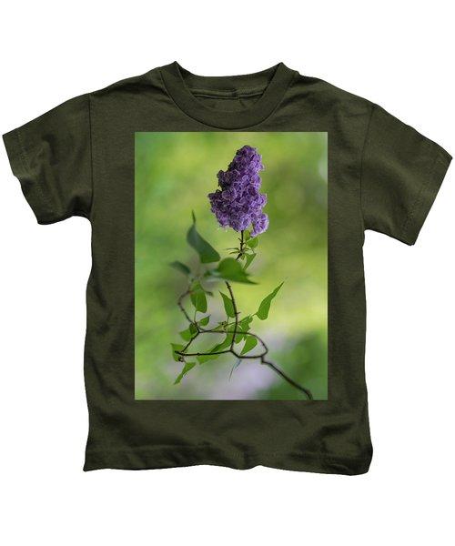 Dark Violet Lilac Kids T-Shirt