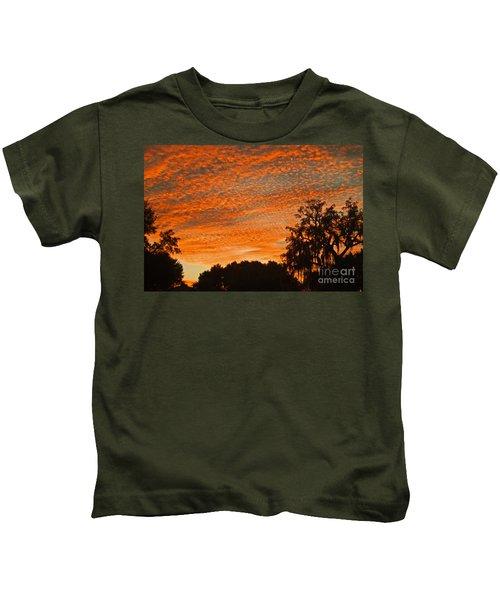 Davenport At Dusk Kids T-Shirt