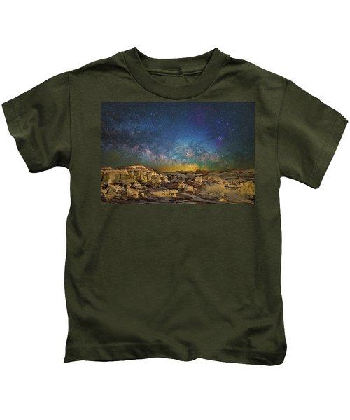 Dawn Of The Universe Kids T-Shirt