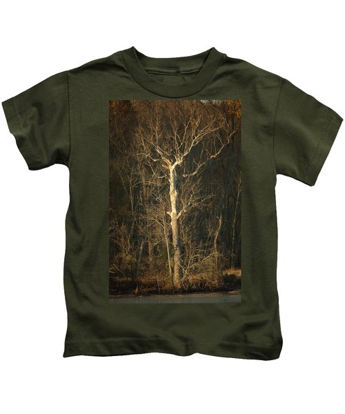 Day Break Tree Kids T-Shirt
