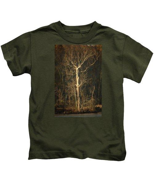 Day Break Tree Kids T-Shirt