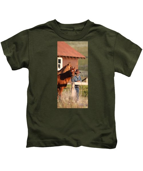Day Thoughts Kids T-Shirt