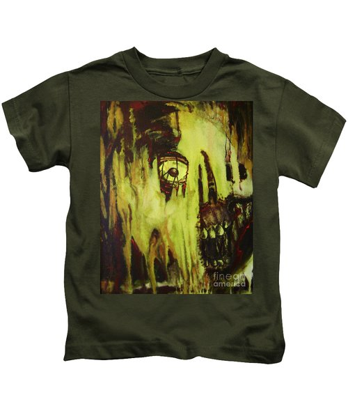 Dead Skin Mask Kids T-Shirt