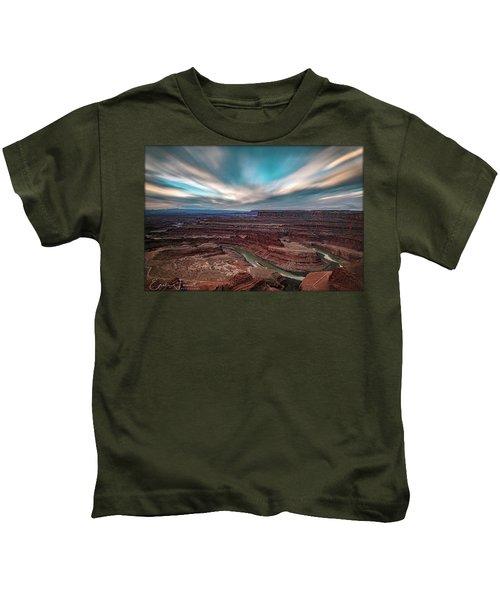 Deadhorse Point Sunrise Kids T-Shirt
