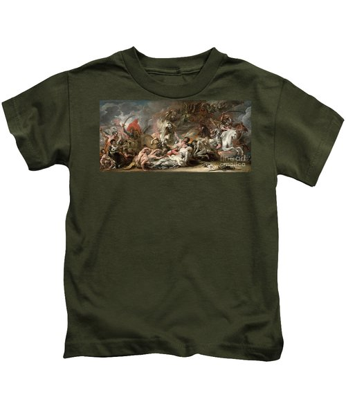 Death On The Pale Horse Kids T-Shirt
