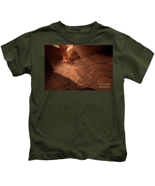 Deep Inside Antelope Canyon Kids T-Shirt