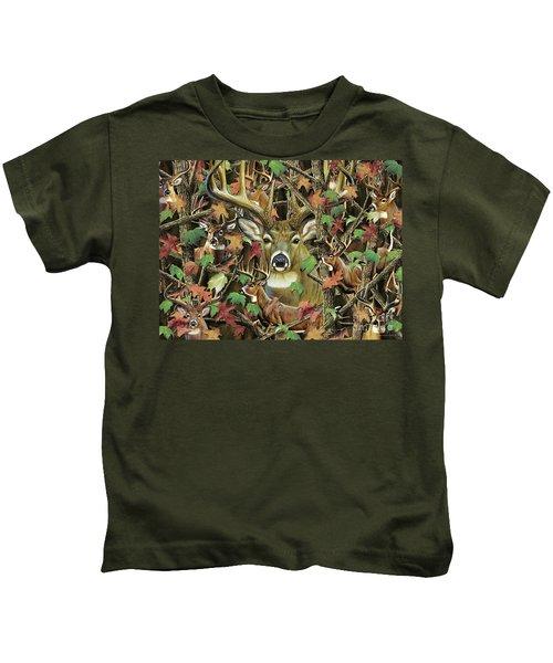 Deer Camo Kids T-Shirt