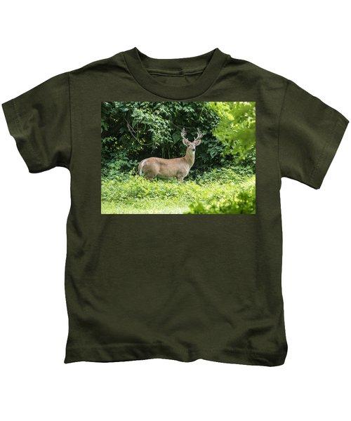 Eastern White Tail Deer Kids T-Shirt