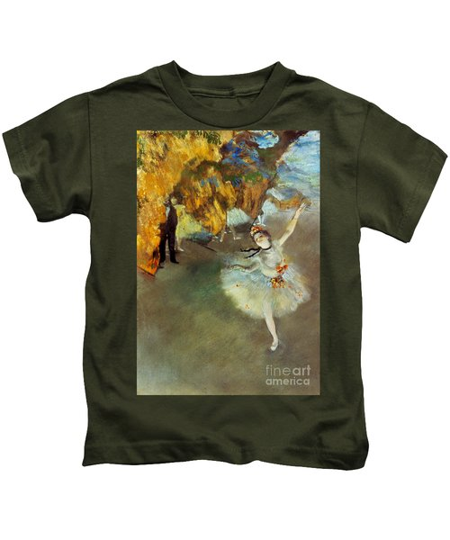 Degas Star, 1876-77. To License For Professional Use Visit Granger.com Kids T-Shirt