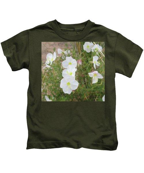 Delicate Desert Bloom - Death Valley Kids T-Shirt