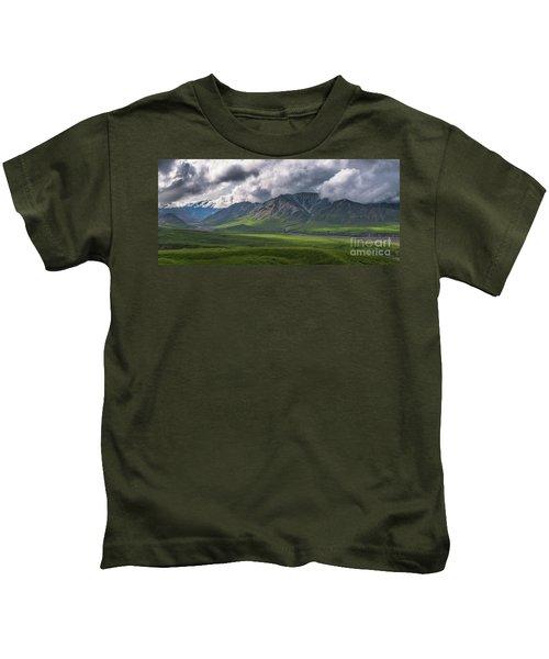 Denali National Park Panorama Kids T-Shirt