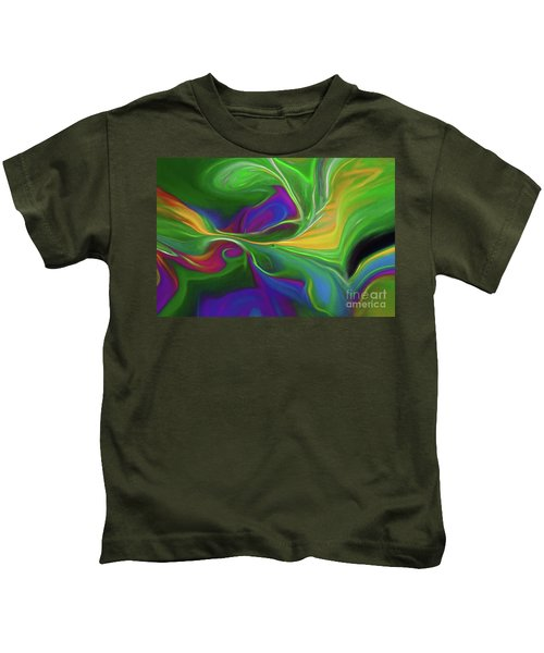 Descending Into Darkness Kids T-Shirt