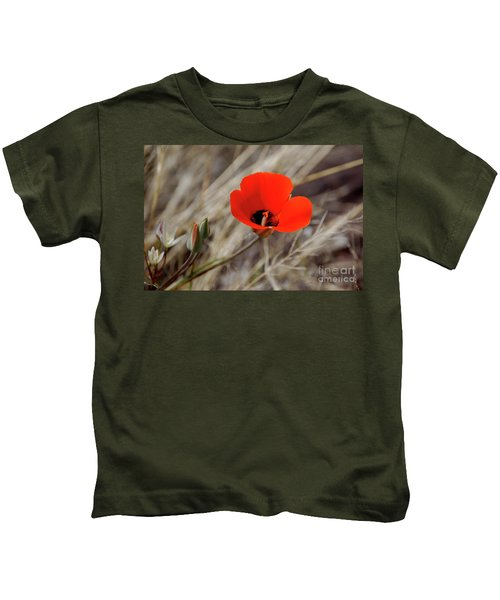 Desert Wildflower Kids T-Shirt
