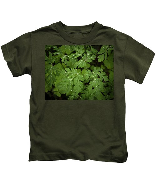 Dewey Leaves Kids T-Shirt