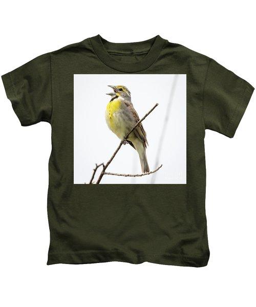 Dickcissel  Kids T-Shirt
