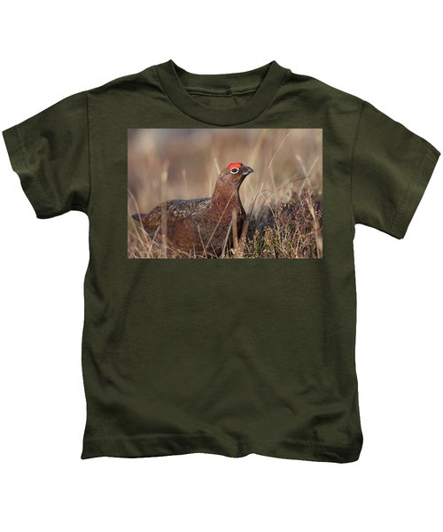 Did I Overdo It With The Eye Shadow? Kids T-Shirt