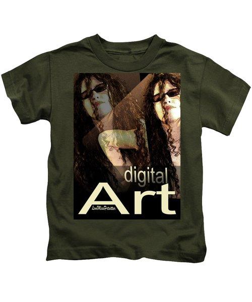 Digital Art Poster Kids T-Shirt