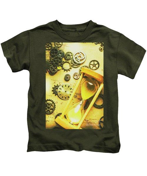 Displacing The Timeline Kids T-Shirt