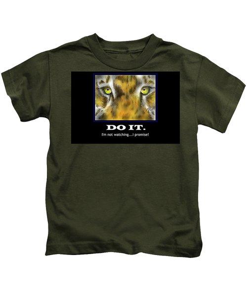 Do It Motivational Kids T-Shirt