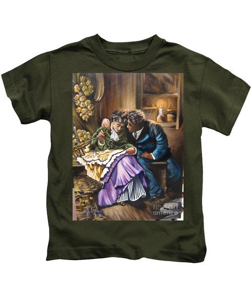 American History    Will You Marry  Me? Kids T-Shirt